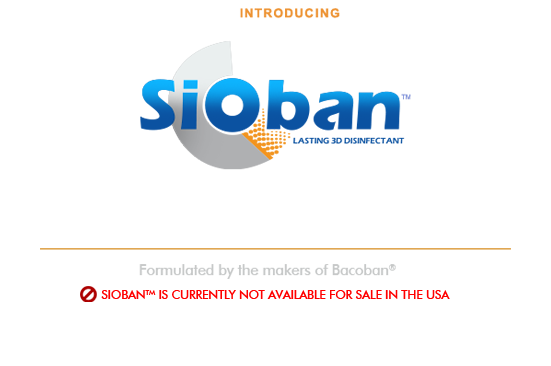 Introducing Bacoban America - Lasting Disinfectant
